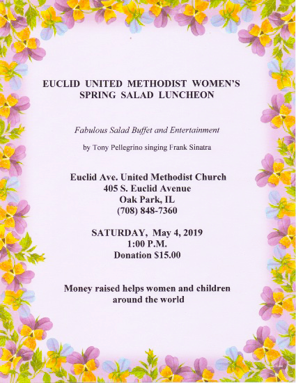 United Methodist Women of Euclid - Spring Salad Luncheon